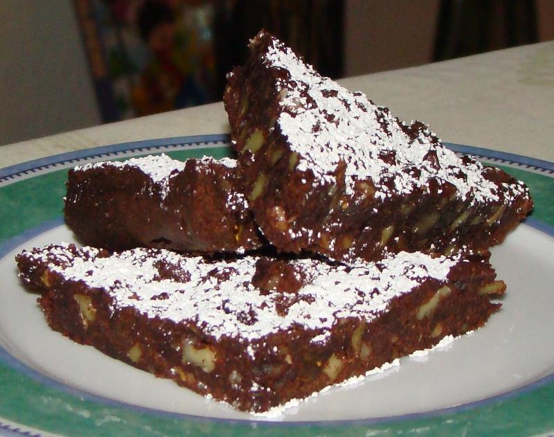 Schokoladen Weihnachtskekse.Walnuss Schoko Ecken Kochpla Net