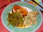 Couscous-Petersilien-Salat & Lauwarmer Bohnensalat